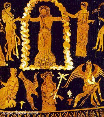 Origine païenne  de la Croix T21.4Prometheus