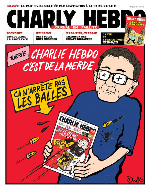 France Foreign Policy and Diplomacy - Page 12 Charlie-hebdo-cest-de-la-merde