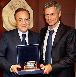¿Cuánto mide José Mourinho? - Altura - Real height Perez-n-mourinho