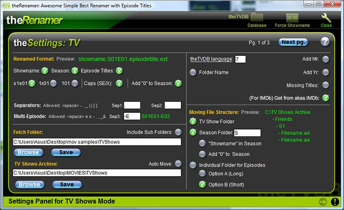 Brezplačni avdio in video programi (za predvajanje in obdelavo zvoka in videa) Screenshot_settings