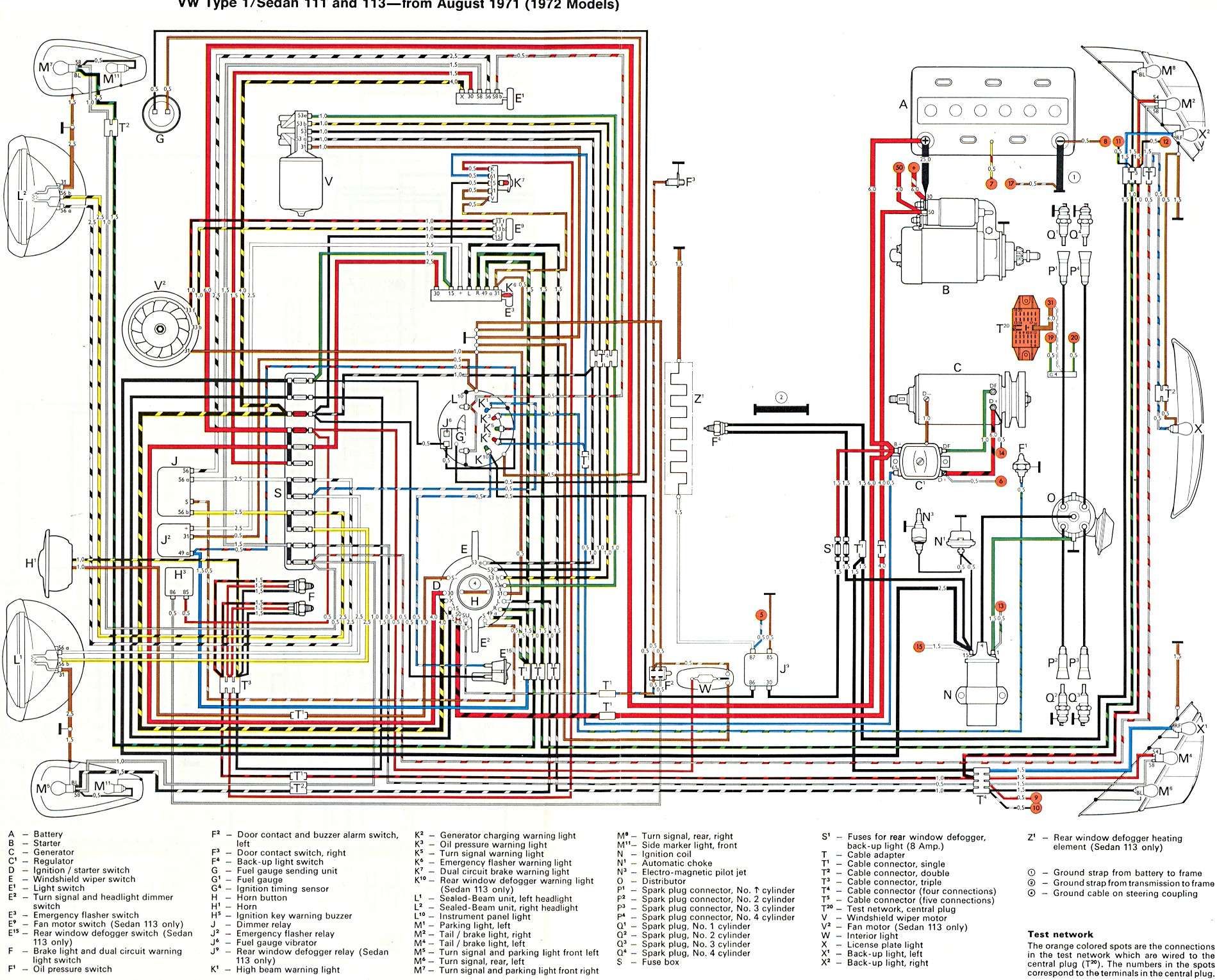 1972 Vw Fuse Diagram Wiring Diagram Productive Productive Zaafran It