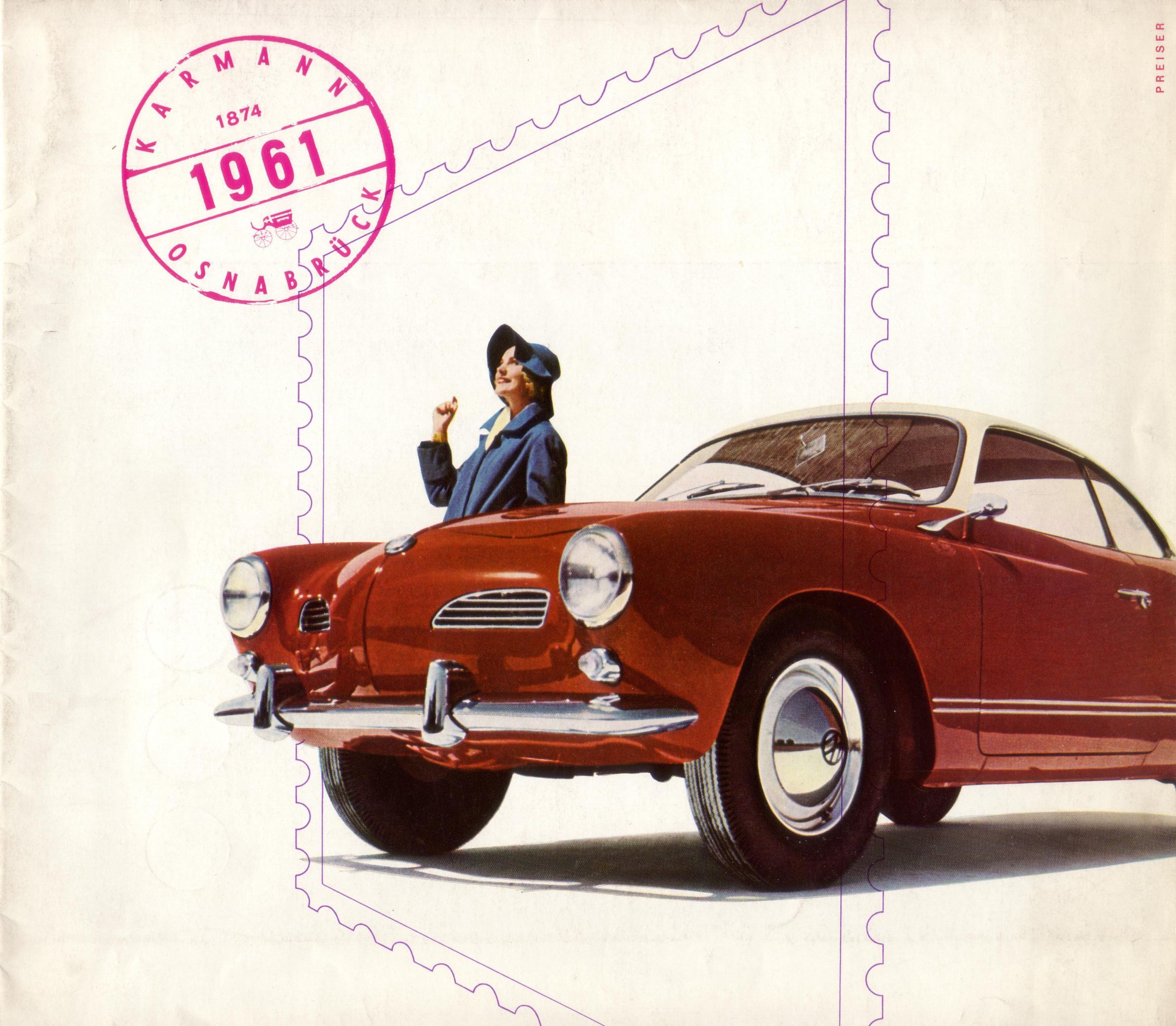 Restauration Coupé KG Type 14 de 1961 Cover