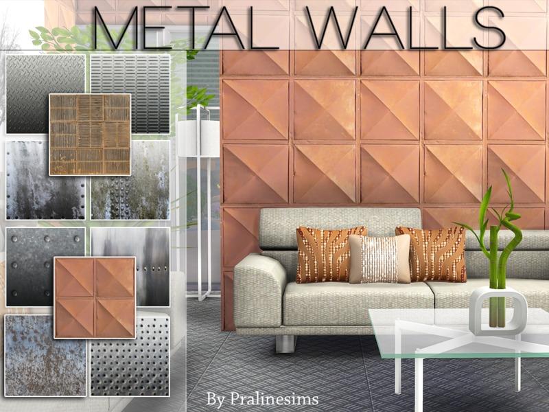 Обои, полы (металл, железо) W-800h-600-2659701