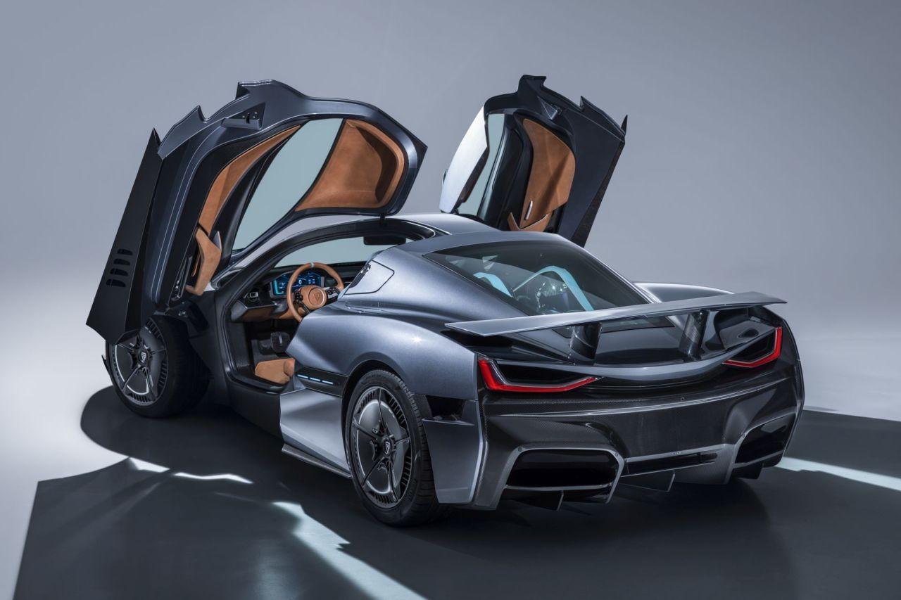 Un Croate invente la voiture électrique la plus rapide du monde ! By DETOURS Rimac-Concept-Two-2018-Geneva-Motor-Show-3