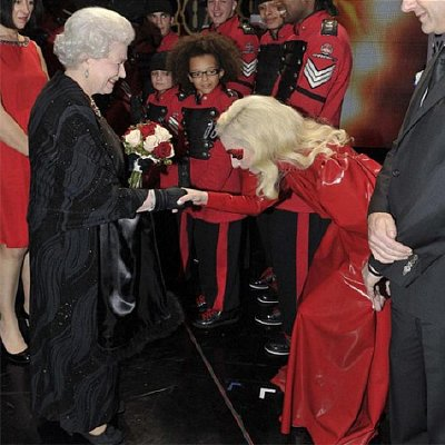 The Lady, The Queen and what it really means  Gaga_queen