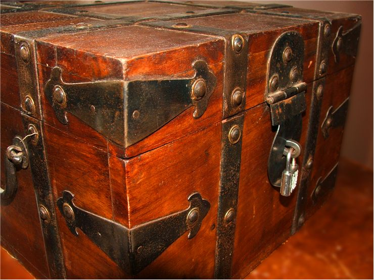 Pirate Code of Conduct and Pirate Rules!! Picture-of-old-treasure-chest