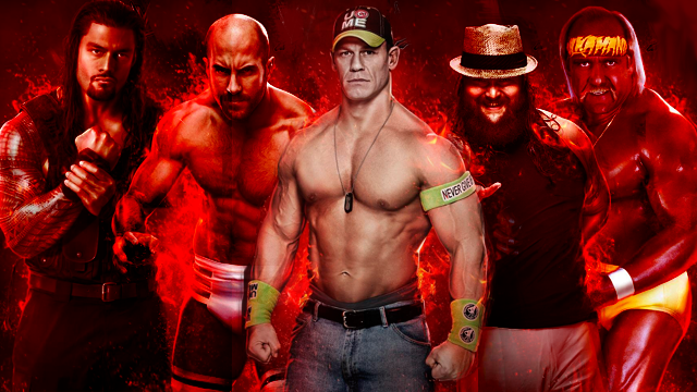 [WWE 2K15] 1ère Photo InGame révélé + News ! WWE-2k15-Roster-Pic-1-Hogan-Cena