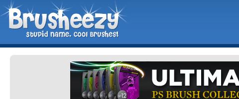 Những công cụ, website cần thiết phục vụ thiết kế web  Brusheezy