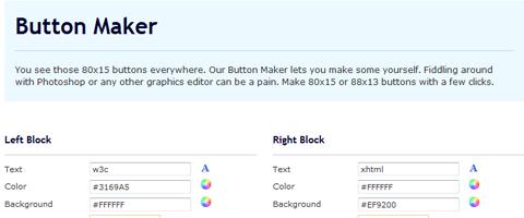 Những công cụ, website cần thiết phục vụ thiết kế web  Button-maker