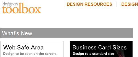 Những công cụ, website cần thiết phục vụ thiết kế web  Designer-toolbox