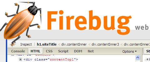 Những công cụ, website cần thiết phục vụ thiết kế web  Fire-bug