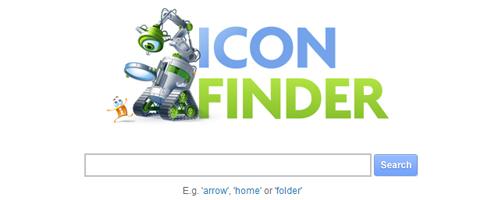 Những công cụ, website cần thiết phục vụ thiết kế web  Icon-finder