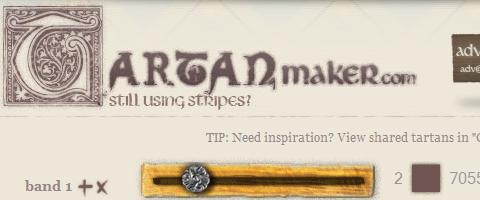 Những công cụ, website cần thiết phục vụ thiết kế web  Tartan-maker