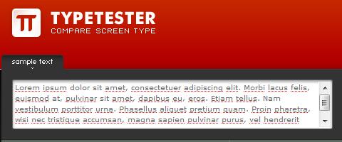 Những công cụ, website cần thiết phục vụ thiết kế web  Typetester