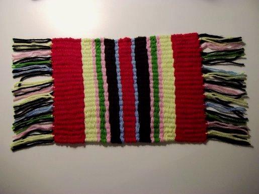 Tejido en telar de fabricación casera sencilla Basic-weaving-with-a-homemade-loom-step14