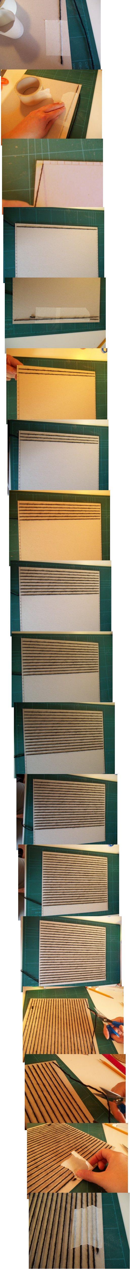 Tejido en telar de fabricación casera sencilla Basic-weaving-with-a-homemade-loom-step3