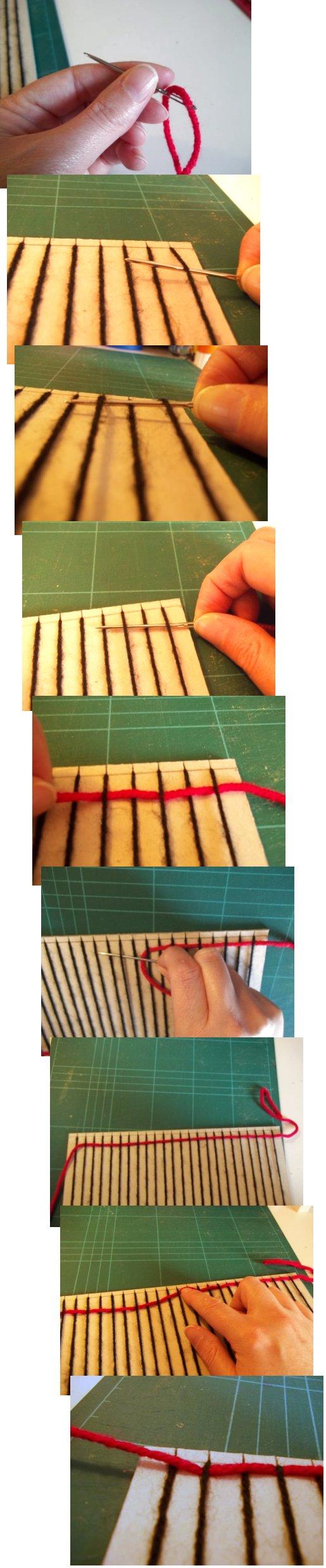 Tejido en telar de fabricación casera sencilla Basic-weaving-with-a-homemade-loom-step5