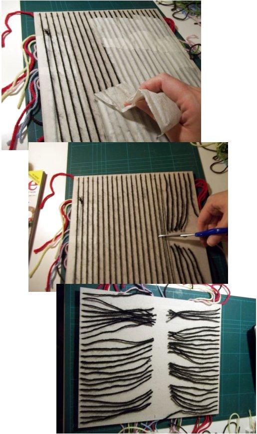 Tejido en telar de fabricación casera sencilla Basic-weaving-with-a-homemade-loom-step9