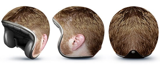 Capacetes interessantes Head-hear-helmet