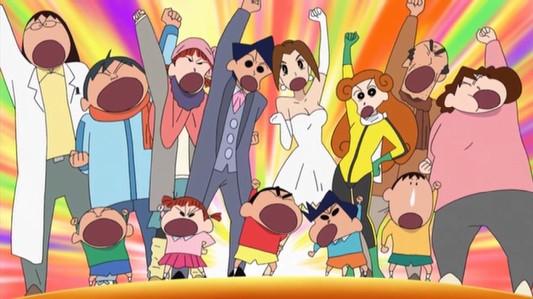 Recomenar animes Crayonshinchan-review