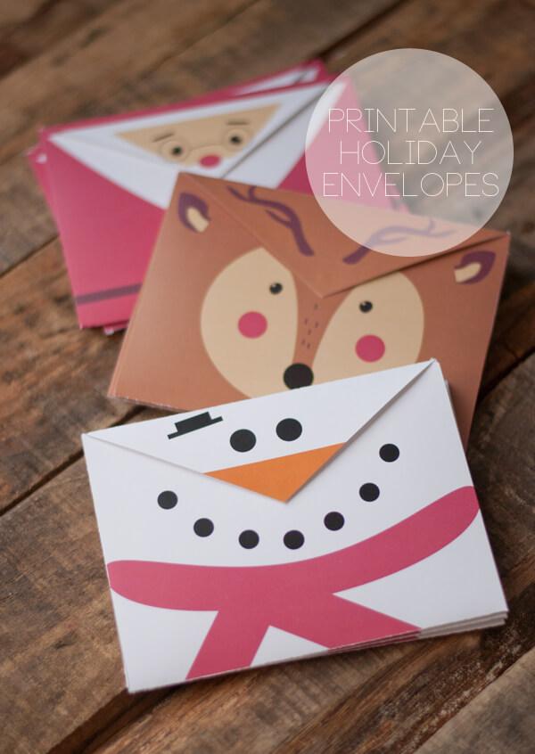 grilles gratuites, tricot, couture, brico, etc... Printable-Holiday-Envelopes-1.1