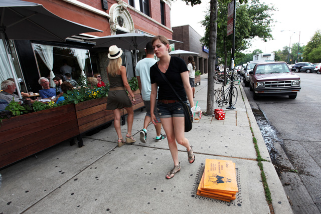 New Street Artist 'Bored' Turns Chicago Sidewalks into Monopoly Game Bored-4