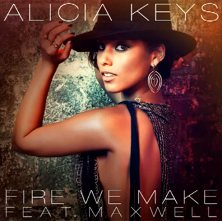"Single > ""Fire We Make"" (Duet with Maxwell) (2013) Alicia-Keys-Fire-We-Make"