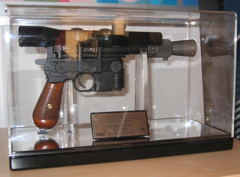 Blaster Han Solo ANH Elite Edition IMG_4271
