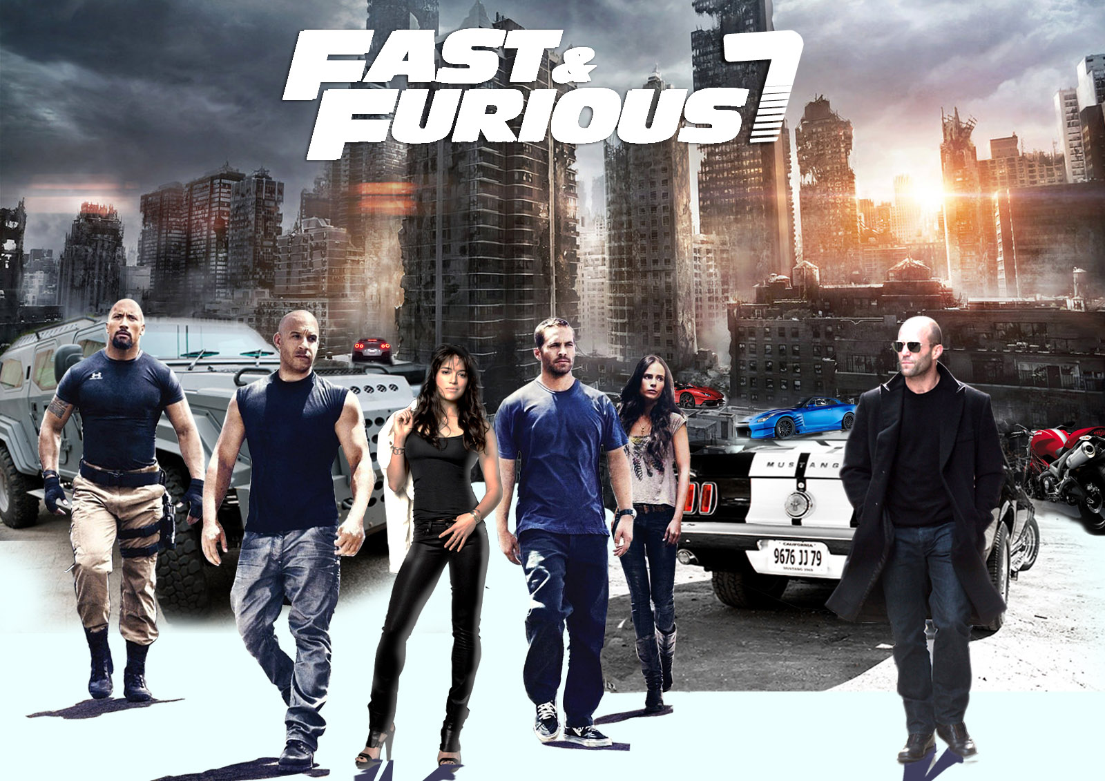 Download Fast And Furious 7 (2015) HDCAM Full Movie in Mp4 Wallpaper_4