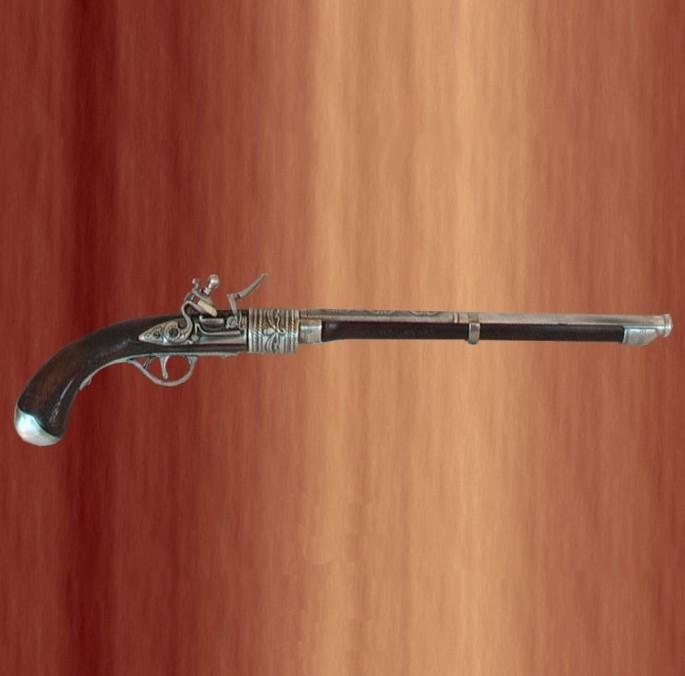 Ficha de Frank Morgan Pistola-antigua-de-ca%C3%B1%C3%B3n-largo