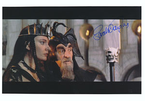 still of deleted love scene from Conan 2 with Sarah Douglas Douglas57