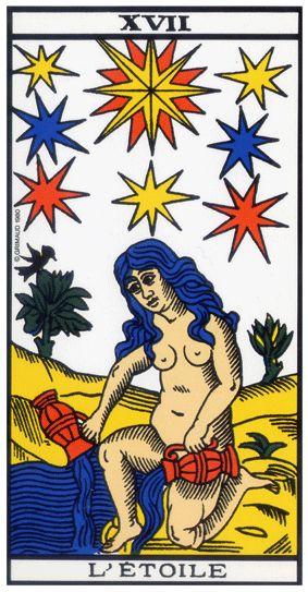 Quelle Arcane du Tarot êtes-vous ? 17-etoile