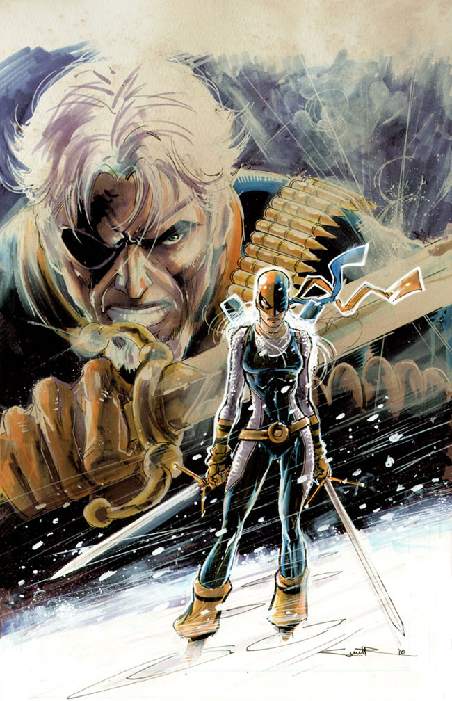 Rose Wilson/The Ravager RAVAGER___FRESH_HELL_by_Cinar