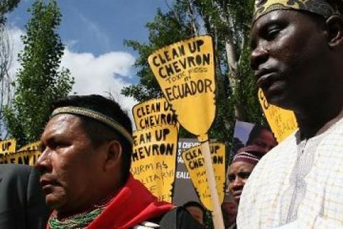 Pollution en Équateur : amende historique pour le géant pétrolier Chevron Gal_3141