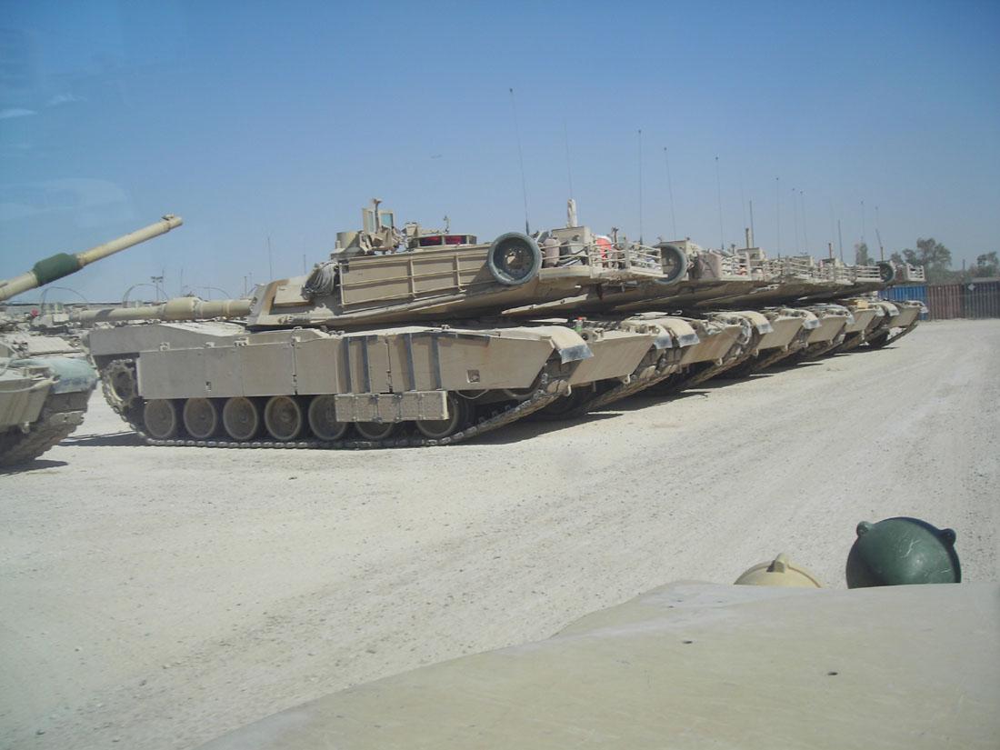 M1A2 SEP Dragon 1/35 et ses jupes... Abrams_15