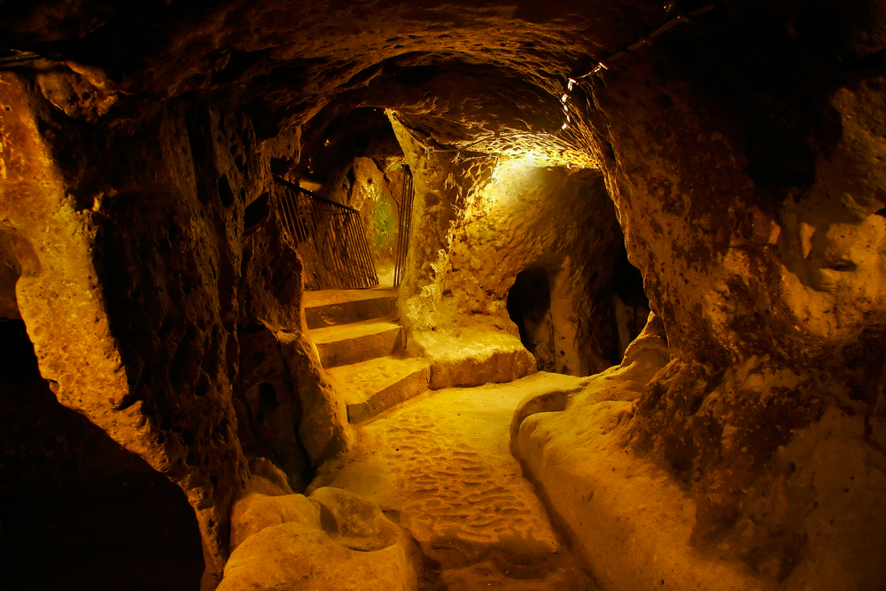 Huge Underground City Discovered In Turkey  Underground-city