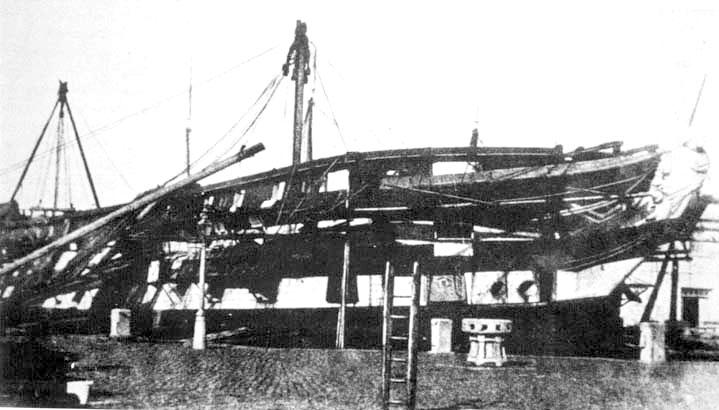 El navio de tres puentes en la Armada Sjose3-max