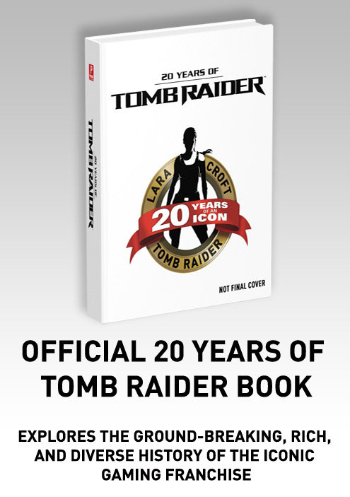 #TombRaider20 20year