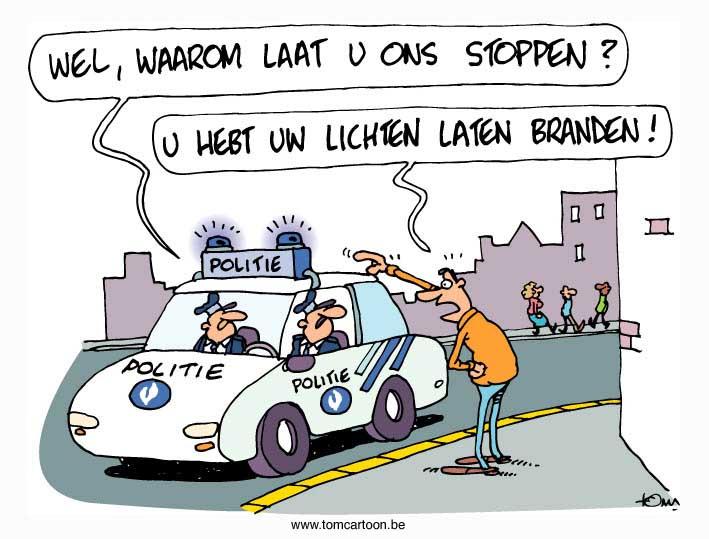 De Belgische Staatsveiligheid waarschuwt voor extreemrechtse burgerwachten. Tomcartoon_energie-lichten-verbruik