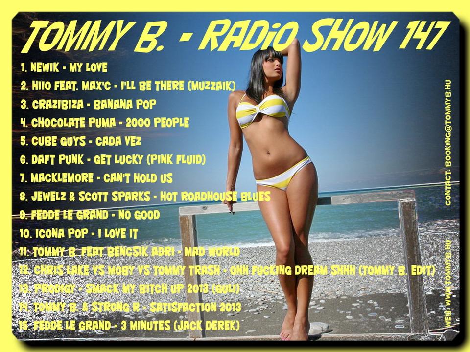Tommy B. - Radio Show 147 Radio_show_147