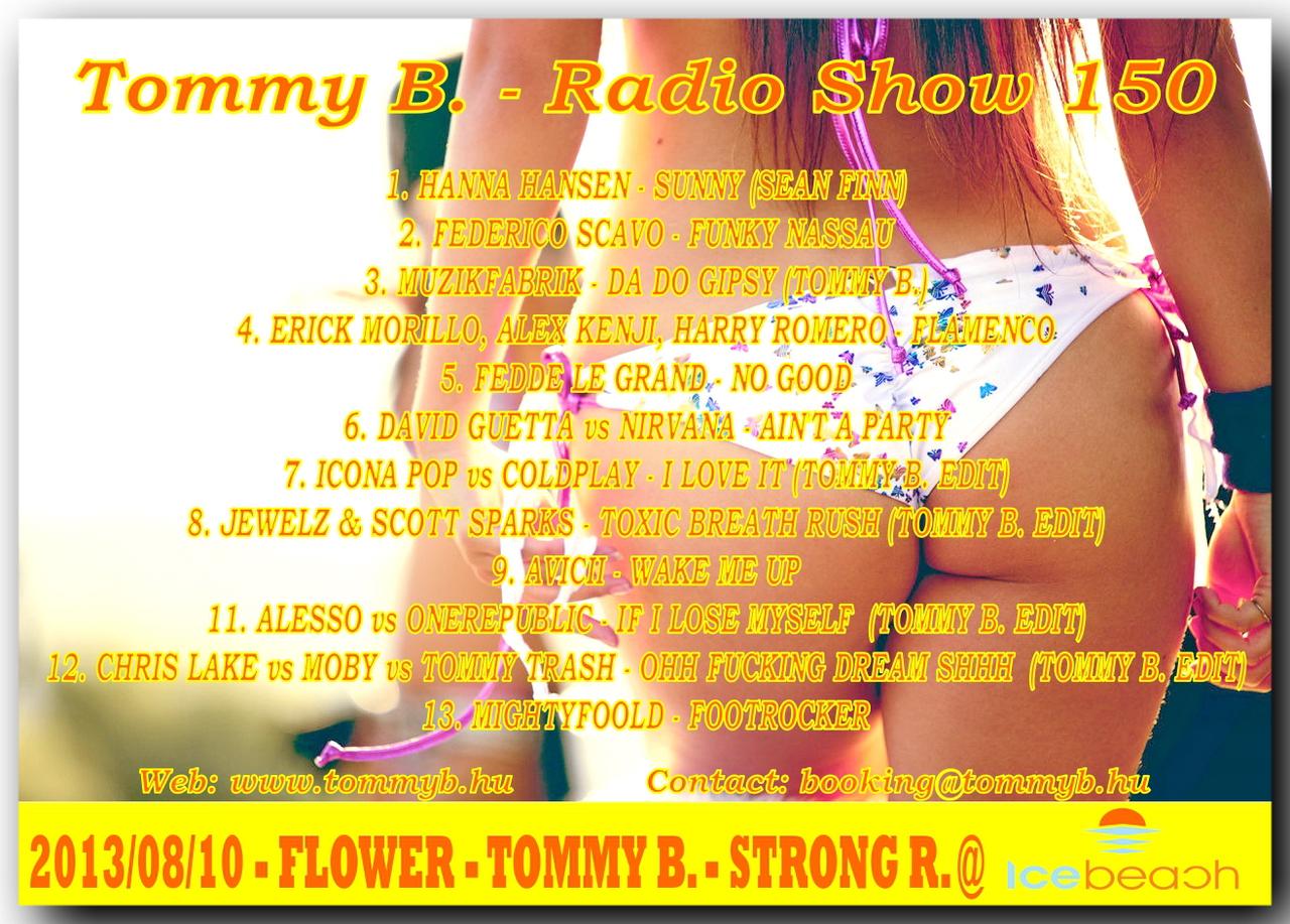 Tommy B. - Radio Show 150 Radio_show_150
