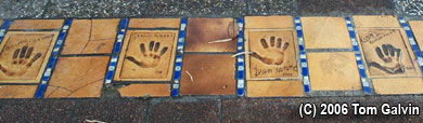 Celebrity handprints at the 'Palais des Festivals' in Cannes, France! Cannes_02