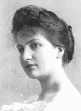Alma Schindler-Mahler (1879 - 1964) Alma-wedding