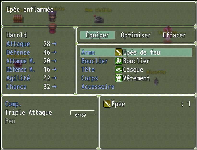 [PLUGIN] Apprentissage des compétences via l'équipement Scene_Equip