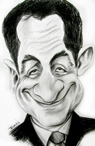 Raciste ou Mépris: pourquoi Sarkozy n'a-t-il pas répondu à la demande... ? Caricature_of_sarkozy_196965