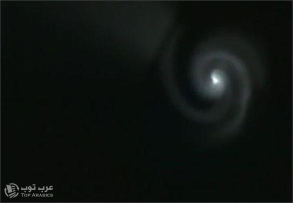 جسم غريب مضيء يظهر في سماء الاردن... Jordan-1