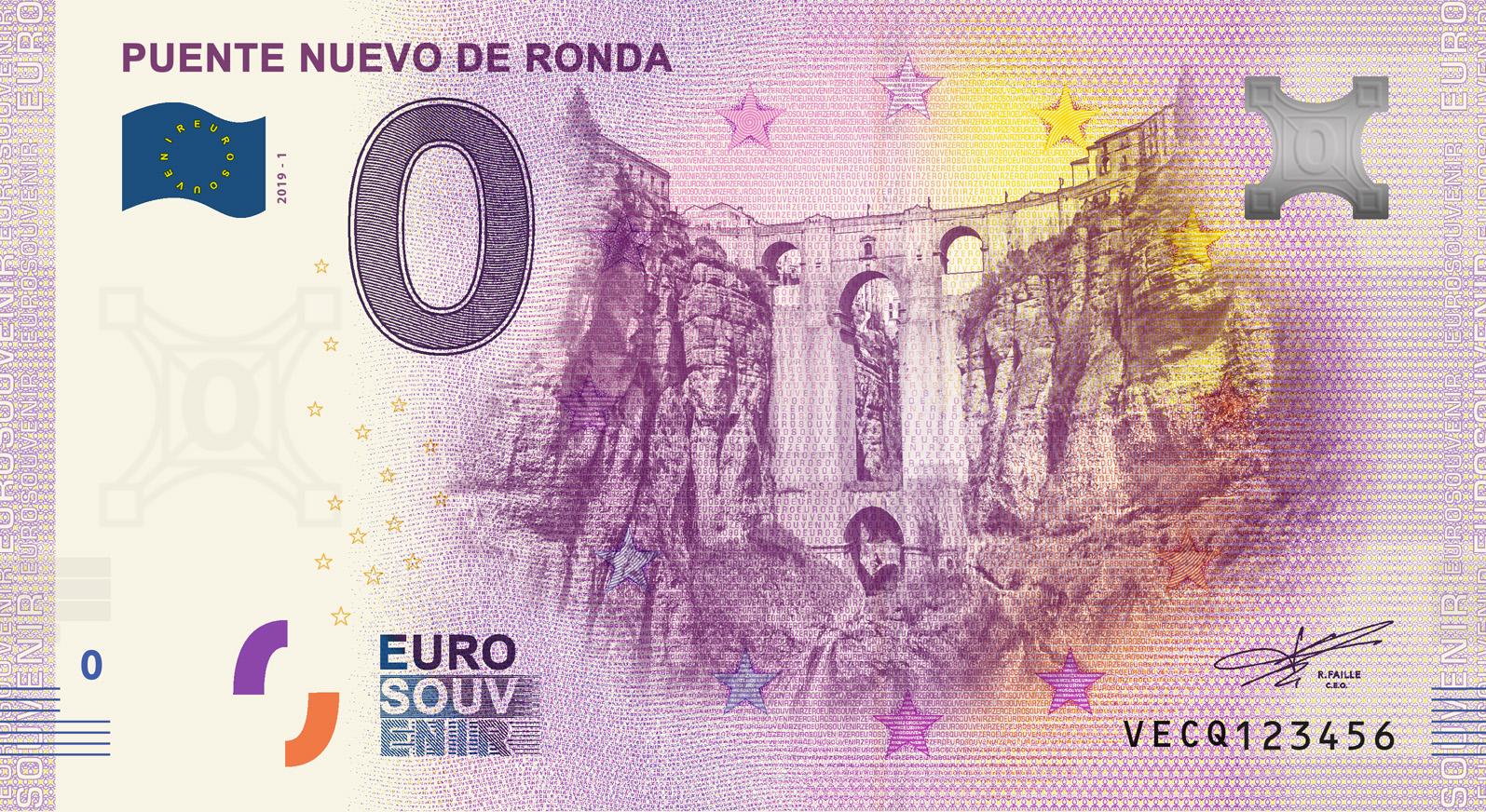 """BILLETES """"O"""" (ZERO) EUROS.................(en general) - Página 16 Vecq"""