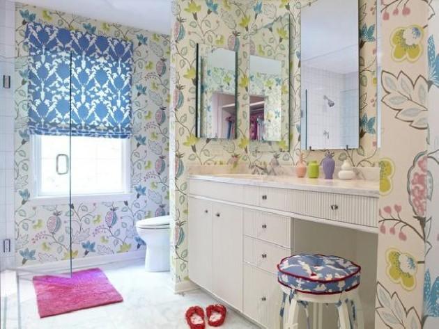 حمامات لأطفالك Girls-bathroom-themes-e1398259603115