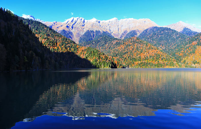 Что нужно обязательно посетить в Абхазии? Ozero-rica-abxaziya