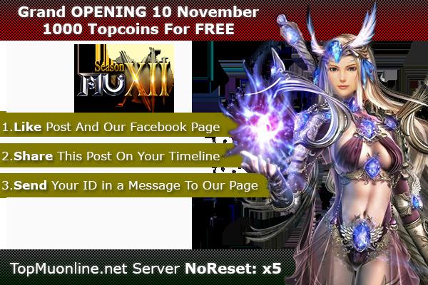 TOP Mu Online   Season 12, x5 NoReset   3D Camera   OPENING 10/11/2020 1000-4